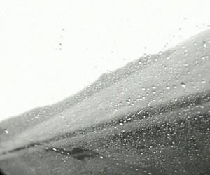 alone, rain, and sad image