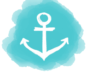 Overlay Anchor And Blue Image