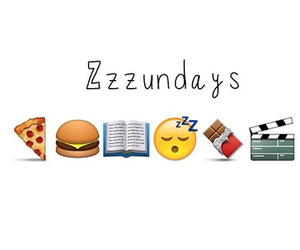 Sunday, sleep, and read image