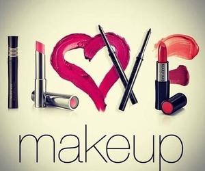 makeup, love, and make up image