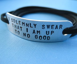 harry potter, bracelet, and quote image
