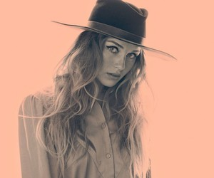 fedora, free people, and girl image