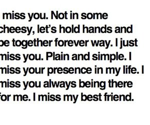 best friends, miss, and text image