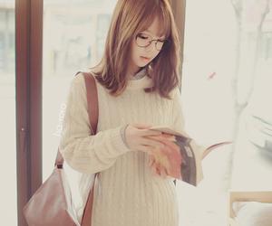 girl, beautiful, and korean image
