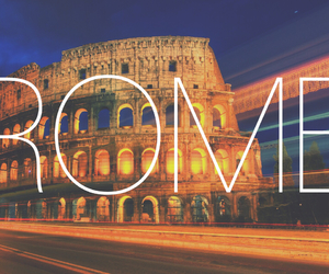 city, italy, and rome image