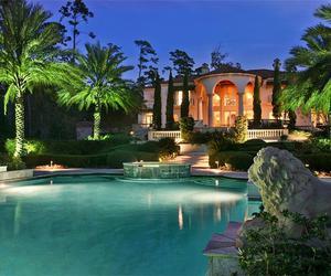 luxury, girl, and house image