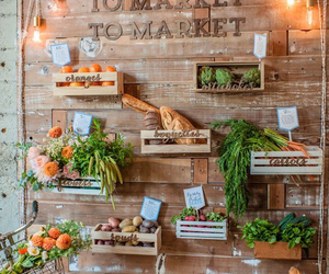 flowers, food, and healthy image