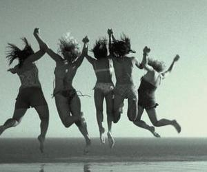 wild child, girl, and friends image