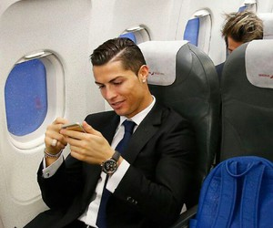 real madrid, cristiano ronaldo, and handsome image