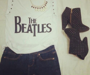 60's, the beatles, and white image