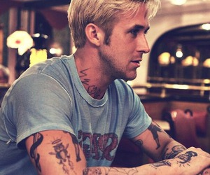 ryan gosling, tattoo, and ryan image