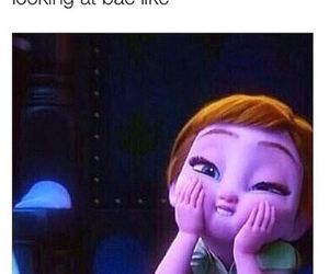 bae, frozen, and funny image