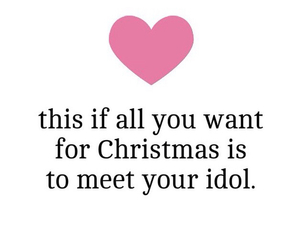 christmas and idol image