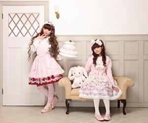 asian, lolita, and kawaii image