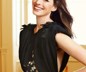 Anne Hathaway and smile image