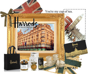 card, harrods, and london image