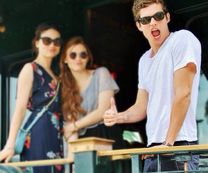 isaac, holland roden, and crystal reed image