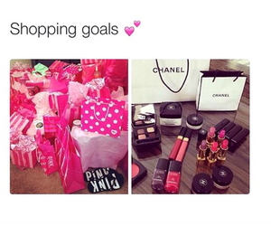 girl, chanel, and goals image