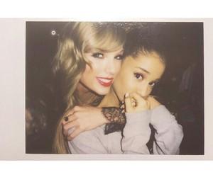 ariana grande and Taylor Swift image