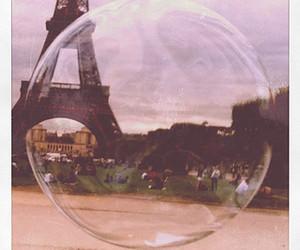 paris, bubbles, and eiffel tower image