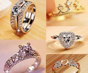rings and wedding rings image