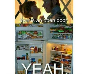 frozen, funny, and hipster image