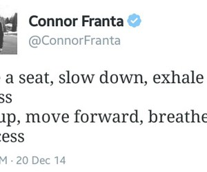 Connor, quotes, and stress image