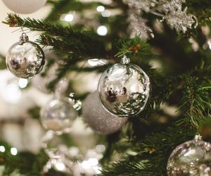 lights, tree, and xmas image