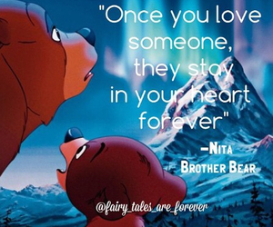 disney, quote, and brother bear image