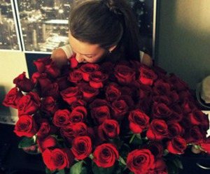 amor, red, and rosas image