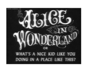 alice, grunge, and vintage image