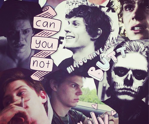 cool, evan peters, and american horror story image