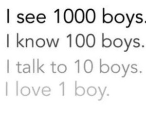 boy, love, and talk image