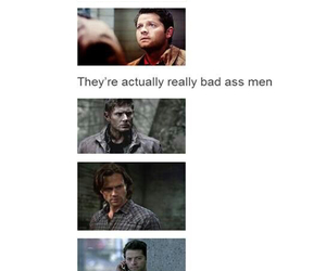 badass, jared padalecki, and Jensen Ackles image
