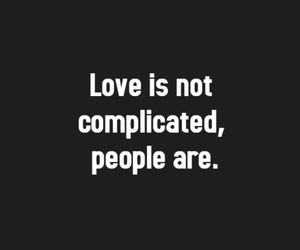 love, complicated, and people image