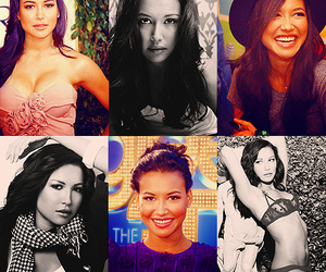 glee and naya rivera image