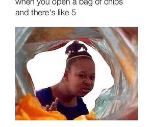 funny, chips, and lol image