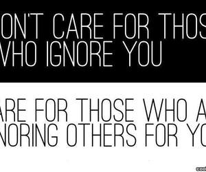 care, quote, and ignore image