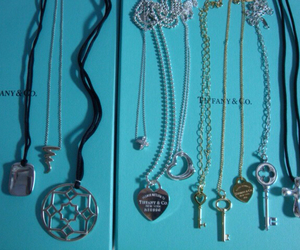 pendant, tiffany and co, and necklace image