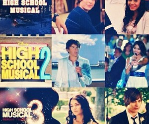 high school musical, movie, and vanessa hudgens image