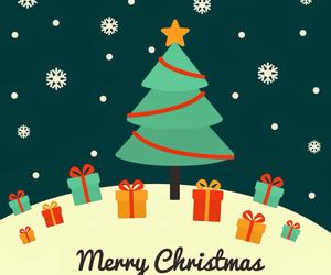 christmas, wallpaper, and merry christmas image