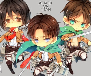 shingeki no kyojin, attack on titan, and anime image
