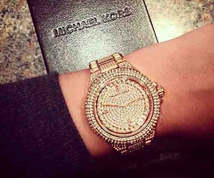 Michael Kors, luxury, and watch image