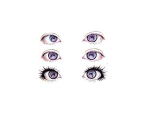 eyes, overlay, and transparent image