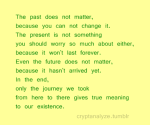 future, past, and typography image
