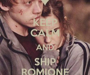 hermione and keep calm image
