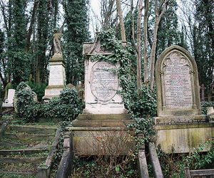 highgate cemetery and london cemetery image