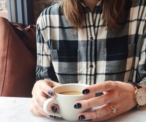 coffee, nails, and style image