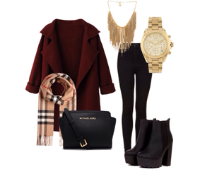Burberry, gold, and Michael Kors image