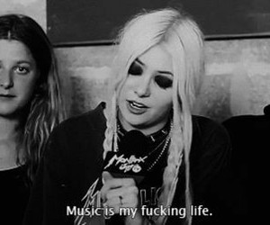 music, Taylor Momsen, and the pretty reckless image
